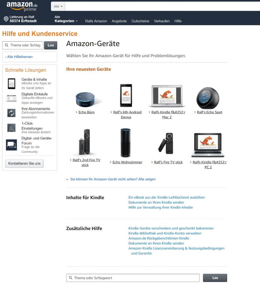 Im Informationsdschungel von Amazon (Hallo, Echo!) 6